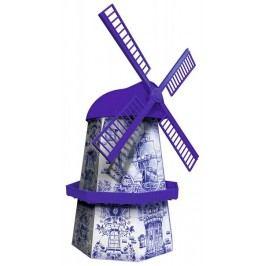 Ravensburger Větrný mlýn - delftský styl 216 dílků