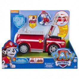 Spin Master Paw Patrol Vozidlo s funkcí a efekty Marshall červené