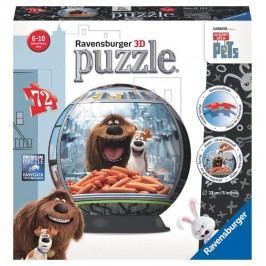 Ravensburger Tajný život mazlíčků - puzzleball 72 dílků