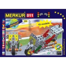 Merkur Stavebnice 011 Motocykl 10 modelů 230ks