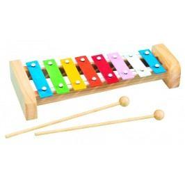 Simba Xylofon s 8 kovovými klávesami, 27 cm