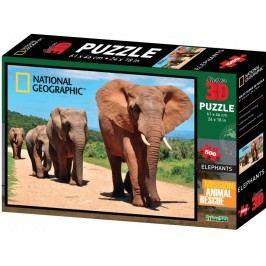 Lamps 3D Puzzle Sloni 500 dílků
