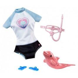 Mattel Barbie Magický delfín doplňky Snorkel Set