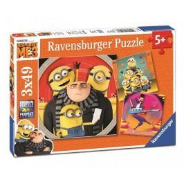Ravensburger Mimoňové: Já Padouch 3 3x49 dílků