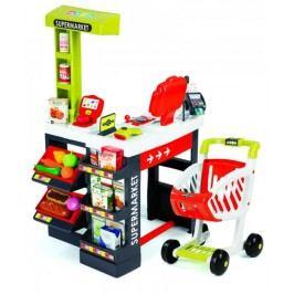 Smoby Supermarket červeno-zelený - II. jakost