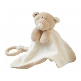 Wooly organic Usínáček s kousátkem Teddy