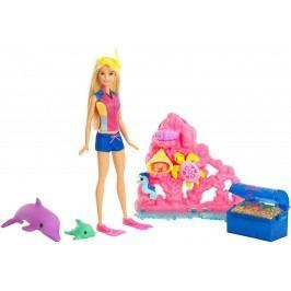 Mattel Barbie Magický delfín Hrací set