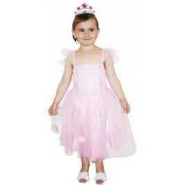 Rappa Kostým princezna růžová S