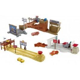Mattel Cars Filmový herní set Fireball Beach Run