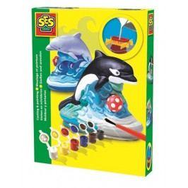 SES Sádrový komplet - delfin