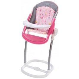 BABY born Jídelní židlička šedo-růžová