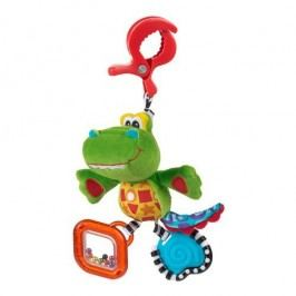 Playgro Závěsný krokodýl s klipem