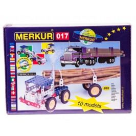 Merkur Stavebnice 017 Kamion 10 modelů 202ks