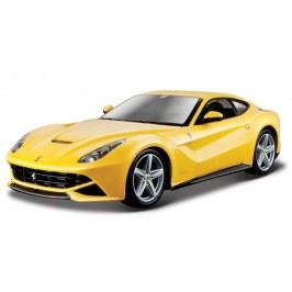 BBurago Ferrari Race & Play F12 Berlinetta (1:24) - žluté
