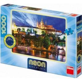 Dino puzzle Letní noc v Praze neon