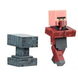 TM Toys Minecraft - Blacksmith Villager sběratelská figurka s doplňky