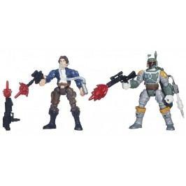 Hero Mashers Star Wars akční balíček Han Solo a Boba Fett