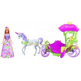 Mattel Barbie Kočár ze sladkého království