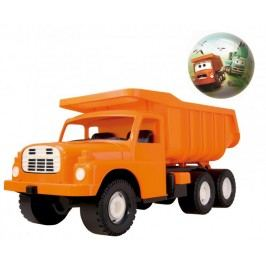 Dino Tatra Auto 148 73cm oranžová + míč tatra 15cm - II. jakost