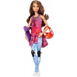 Mattel Barbie sportovkyně skateboard