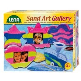 LENA Fotorámečky s barevným pískem, velké