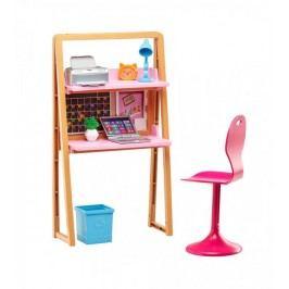 Mattel Barbie panenka a nábytek kancelář