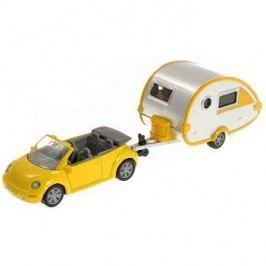 Siku Blister – VW Brouk s obytným přívěsem