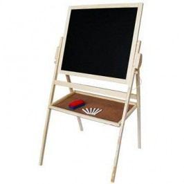 Kreslící tabule 2v1, dřevěná