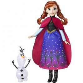 Frozen Panenka Anna se třpytivými šaty a kamarádem
