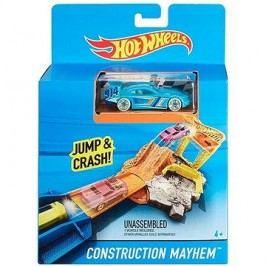 Hot Wheels Dráha do kapsy Construction Mayhem