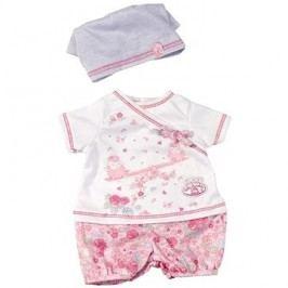 My First Baby Annabell Oblečení na doma bílé a růžové