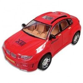 Auto na setrvačník červené