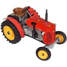 Kovap Traktor na klíček červený