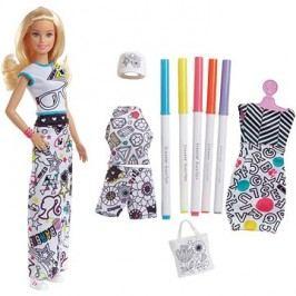 Barbie D.I.Y. Crayola vybarovování šatů běloška
