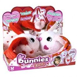 Bunnies Love Králíček s magnetky - set 2ks
