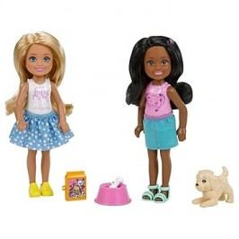 Barbie Chelsea dvojitý set Štěně