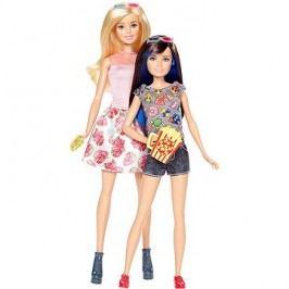 Barbie Sestry dvojitý set Barbie + Skipper