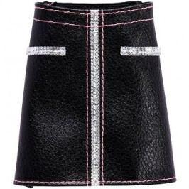 Barbie Sukně a kalhoty - černo-stříbrná