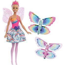 Barbie Létající víla s křídly - blondýnka