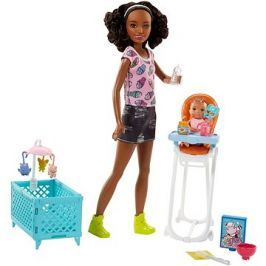 Barbie Chůva herní set III