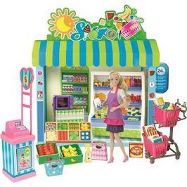 Panenka a supermarket