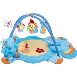 PlayTo hrací deka s melodií - slůně s hračkou