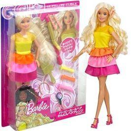 Barbie Panenka s vlnitými vlasy