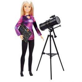 Barbie Povolání National Geographic s dalekohledem
