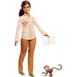 Barbie Povolání National Geographic s opičkou
