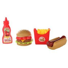 Sada jídla fast food