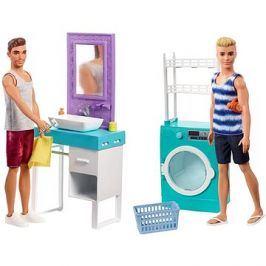 Barbie Ken s nábytkem