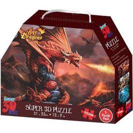 3D Puzzle Draci 3v1