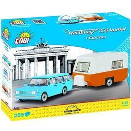 Cobi Wartburg 353 Tourist s karavanem