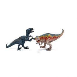 Schleich 42216 T-Rex a Velociraptor